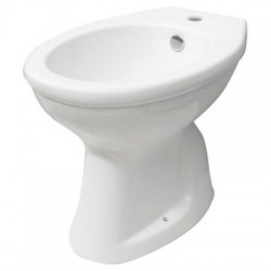 Sanitari Ceramica VASO / BIDET ANZIANI CHIUSO COMPLETO DI EROGATORE Pavimento
